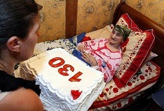 Oldest Women in the world 2010, Antisa Khvichava picture, World Oldest women photo, oldest person 2010, oldest lady lives