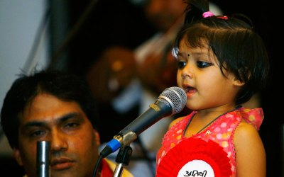 world's youngest singer 2010 photo, Nepalese girl Atithi K.C picture, Atithi recently live performance video, Atithi singing three songs album, three year old girl Kathmandu