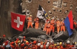 World's Longest Rail Tunnels photo, World's Longest Rail Tunnels picture, Switzerland Longest Rail Tunnel video, Gotthard Base Tunnel picture, Longest Rail Tunnel in the world 2011, Gotthard Base Tunnel Guinness World Record 2011, Gotthard Base Tunnel image