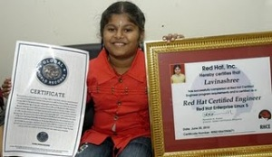 World's Youngest Microsoft Certified Professional 2011, M.Lavinashree photo, M.Lavinashree picture, M. Lavinashree Prometric Examination, M.Lavinashree Guinness World Records 2011, world's youngest Microsoft Certified Engineer, World's Youngest Microsoft Certified Madurai girls, M. Lavinashree Limca Book of World Record 2011