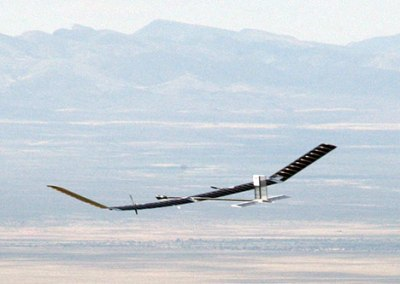 Solar powered Zephyr picture, Longest flight World Record 2011, Qinetiq aircraft Zephyr video, new Zephyr aircraft 2011, Longest flying UAV in the world,