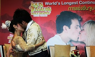 World's Longest Kiss picture, World's Longest Kiss 2011, World's Longest Kiss video, Love Kiss Marathon Guinness World Record 2011, Pattaya Longest Kiss Guinness World Record, Valentine's Day World's Longest Kiss World Record 2011, World's Longest Continuous Kiss
