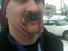 Mustache Guinness world record, mustache contest world record 2011, N.H.Town mustache contest