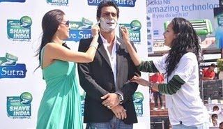 Worlds Largest Shaving Lesson, Gillette India World Record, Gillette Shave Sutra, World's Largest Shaving Lesson