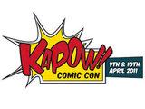 Fastest Production Kapow, Kapow Guinness World Record, Kapow Comic Con picture, Kapow book world record