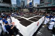 World's largest ice cream cake photo, World's largest ice cream cake picture, World's largest ice cream cake 2011, World's largest ice cream cake Guinness World Record, Dairy Queen largest ice cream cake, 2011 Dairy Queen largest ice cream cake