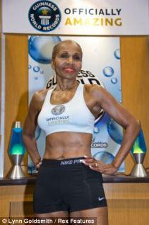 Ernestine Shepherd photo, Ernestine Shepherd picture, Ernestine Shepherd Guinness World Record, World's oldest female bodybuilder, World's oldest women bodybuilder, oldest competitive female bodybuilder ever, Baltimore fitness centre
